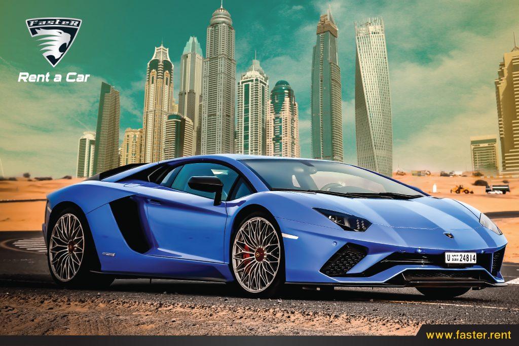 Renting Lamborghini in Dubai - Faster Car Rental Dubai